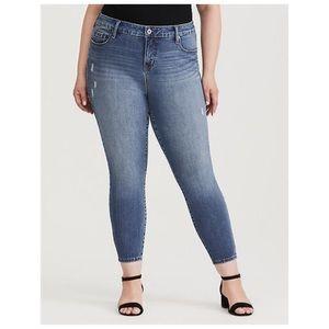 Torrid Premium High Rise Curvy Jeans